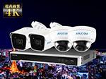 SET650 4K IPネットワークカメラ選べる1~16台セット