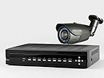 AHDカメラ220万画素バレット型赤外線搭載屋外カメラ